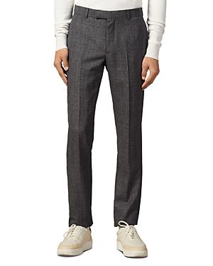 Sandro Marled Slim Fit Suit Pants-Men