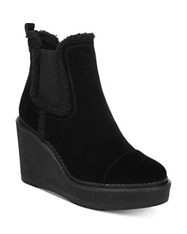Sam Edelman - Women's Reagan Wedge Heel Booties