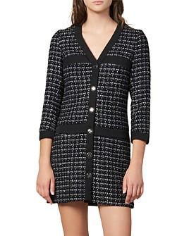 Sandro - Gelina Tweed Mini Dress