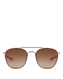 Krewe - Men's Audobon Polarized Aviator Sunglasses, 54mm