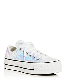 Converse - Women's Chuck Taylor All Star Low-Top Platform Sneakers