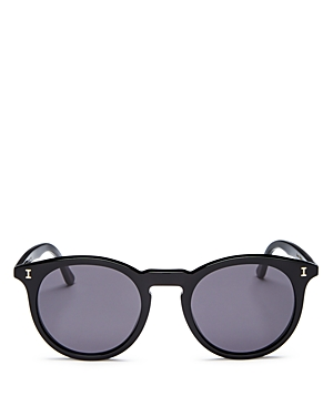 Illesteva Unisex Sterling Round Sunglasses, 48mm