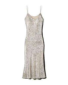 Whistles - Dagma Sequined Slip Dress
