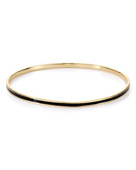 Argento Vivo - Enamel Bangle Bracelet in 18K Gold-Plated Sterling Silver