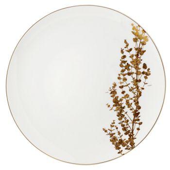 Bernardaud - Vegetal Coupe Dinner Plate