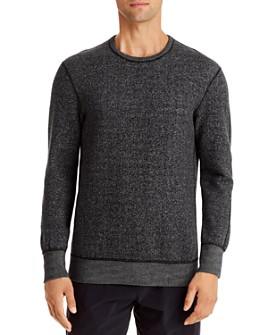REIGNING CHAMP - Tiger Fleece Crewneck Sweatshirt