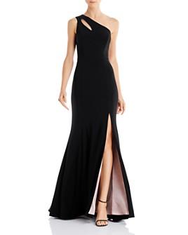 AQUA - One-Shoulder Gown - 100% Exclusive