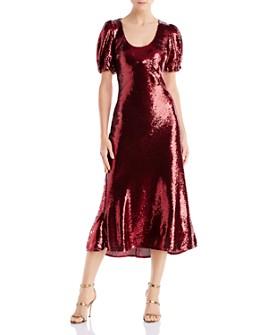 Keepsake - Farewell Sequined Midi Dress