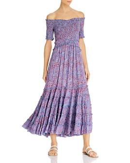 Poupette St. Barth - Soledad Off-the-Shoulder Midi Dress