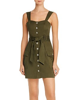 Red Carter - Cargo Belted Mini Dress