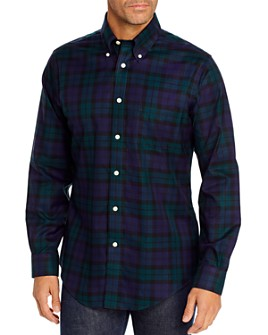 Brooks Brothers - Twill Holiday Classic Fit Button-Down Shirt