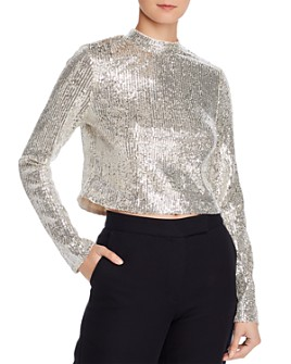 Endless Rose - Sequined Cropped Top - 100% Exclusive