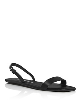 Alexander Wang - Women's Ryder Satin Folding Sandals