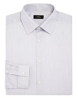 Theory - Cedrick Boca Stripe Slim Fit Dress Shirt