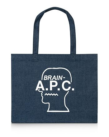 A.P.C. - x Brain Dead Denim Shopping Tote