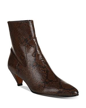Vince Mid heels WOMEN'S META KITTEN HEEL BOOTIES