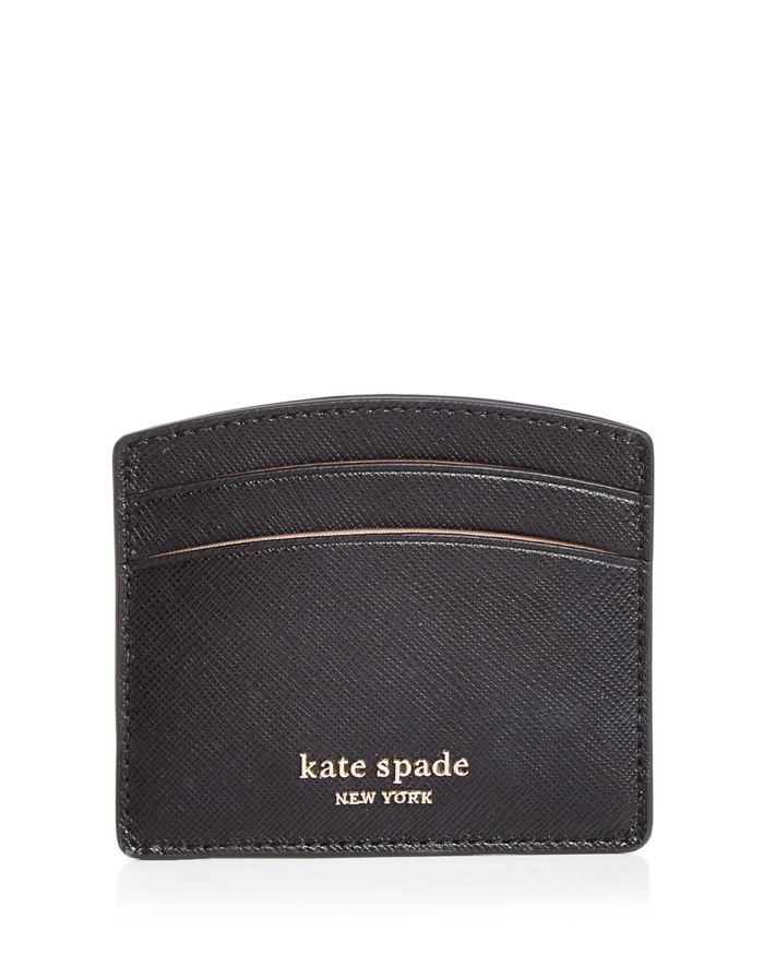 Kate spade new york Spencer Leather Card Case  | Bloomingdale's