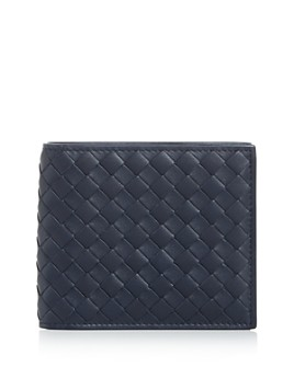 Bottega Veneta - Woven Leather Bi-Fold Wallet
