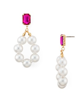 AQUA - Simulated Pearl Drop Earrings - 100% Exclusive