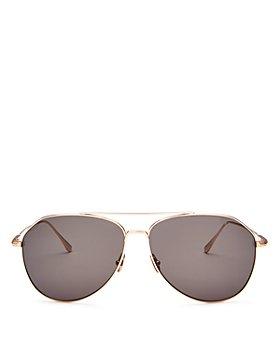 Tom Ford - Men's Cyrus Brow Bar Aviator Sunglasses, 62mm