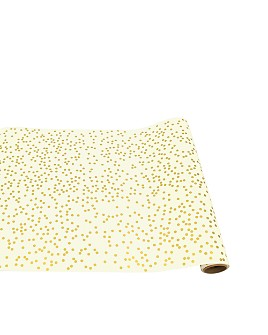Hester and Cook - Gold Confetti Runner
