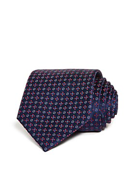 Armani - Dot & Diamond Silk Classic Tie