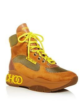 Jimmy Choo - Women's Inca Platform Hiker Boots