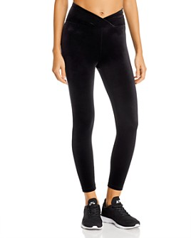 Year of Ours - Veronica Velvet Cropped Leggings
