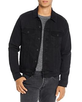 Joe's Jeans - Corduroy-Trim Regular Fit Trucker Jacket