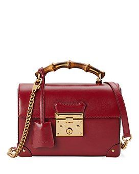 Gucci - Padlock Small Bamboo Shoulder Bag