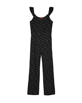 AQUA - Girls' Star Print Jumpsuit, Big Kid - 100% Exclusive