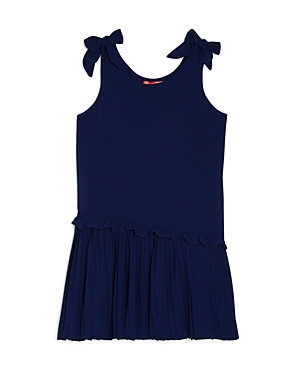 Aqua Girls' Pleated Bow Dress, Big Kid - 100% Exclusive