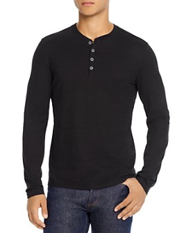 John Varvatos Collection - Regular Fit Henley - 100% Exclusive