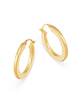 Moon & Meadow - Hoop Earrings in 14K Yellow Gold - 100% Exclusive