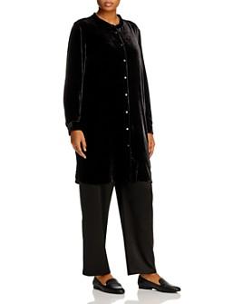 Eileen Fisher Plus - Velvet Tunic Top