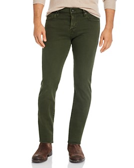 7 For All Mankind - Paxtyn Skinny Fit Jeans in Light Army