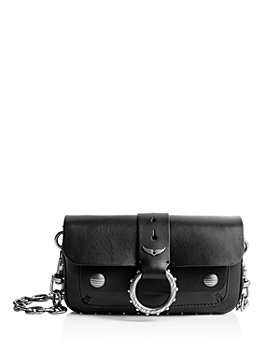 Zadig & Voltaire - Kate Arty Snakeskin Chain Wallet