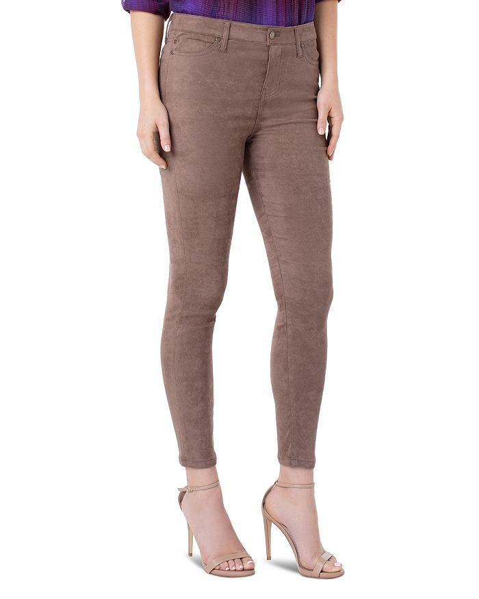 Liverpool Los Angeles - Abby Faux-Suede Skinny Pants