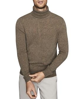 REISS - Monty Seam-Detailed Turtleneck Sweater