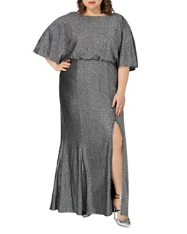 Maree Pour Toi Plus - Shimmer Maxi Dress