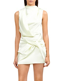 Acler - Jasper Draped Twist Mini Dress