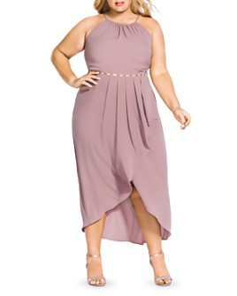 City Chic Plus - Lovestruck Sleeveless Maxi Dress