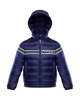 Moncler - Boys' Renald Striped Packable Down Jacket - Big Kid