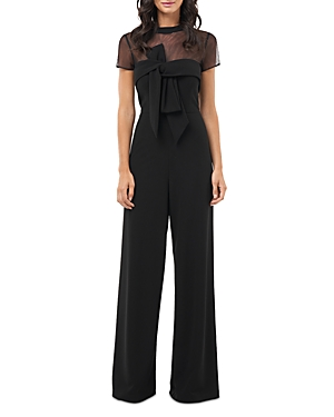 Js Collections Illusion Crepe Jumpsuit