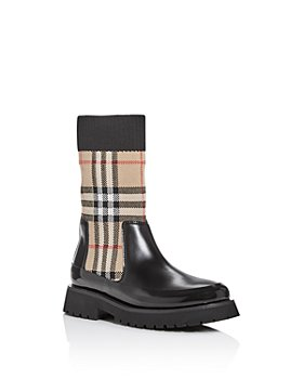Burberry - Unisex Mini Doug Vintage Check Boots - Toddler, Little Kid
