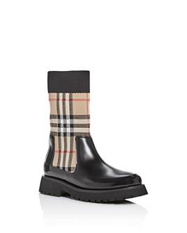 Burberry - Unisex Mini Doug Vintage Check Boots - Toddler, Little Kid