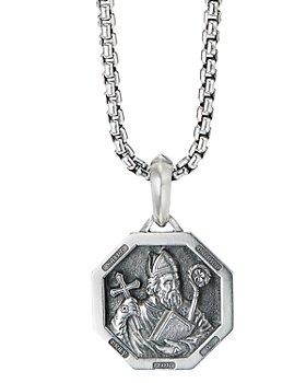 David Yurman - Sterling Silver St. Patrick Amulet