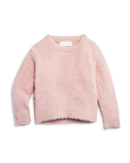 Bella Dahl - Girls' Fuzzy Sweater - Little Kid, Big Kid