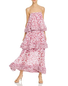 Amur - Tiered Floral Gown