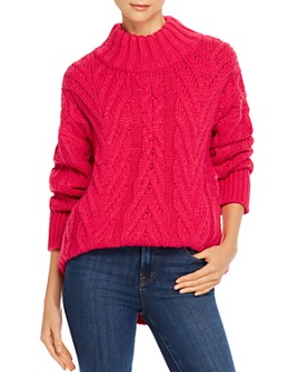 FRENCH CONNECTION - Nissa Chunky Cable-Knit Sweater